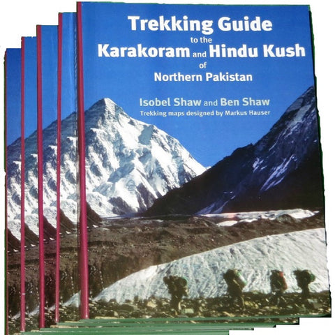 Trekking Guide to Karakorums and Hindukush