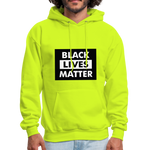 Load image into Gallery viewer, Men's Hoodie - safety green
