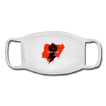 Load image into Gallery viewer, Youth Face Mask - white/white