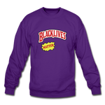"Load image into Gallery viewer, theblackjunction ""Blackwoods"" Sweater - purple"
