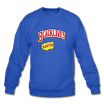"Load image into Gallery viewer, theblackjunction ""Blackwoods"" Sweater - royal blue"