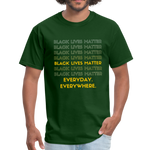 "Load image into Gallery viewer, theblackjunction ""Forever"" (Tee) - forest green"