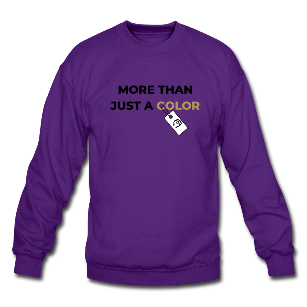 "theblackjunction ""More Than"" Inverse (Sweater) - purple"