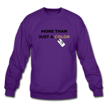 "Load image into Gallery viewer, theblackjunction ""More Than"" Inverse (Sweater) - purple"