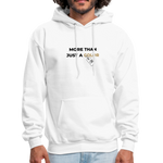 "Load image into Gallery viewer, theblackjunction ""More Than"" Inverse (Hoodie) - white"