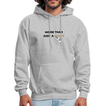 "Load image into Gallery viewer, theblackjunction ""More Than"" Inverse (Hoodie) - heather gray"