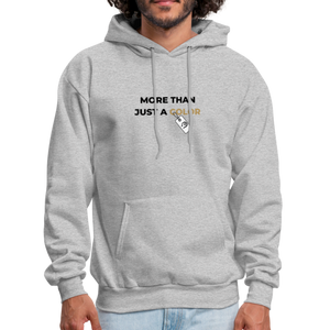 "theblackjunction ""More Than"" Inverse (Hoodie) - heather gray"