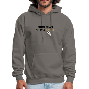 "theblackjunction ""More Than"" Inverse (Hoodie) - asphalt gray"