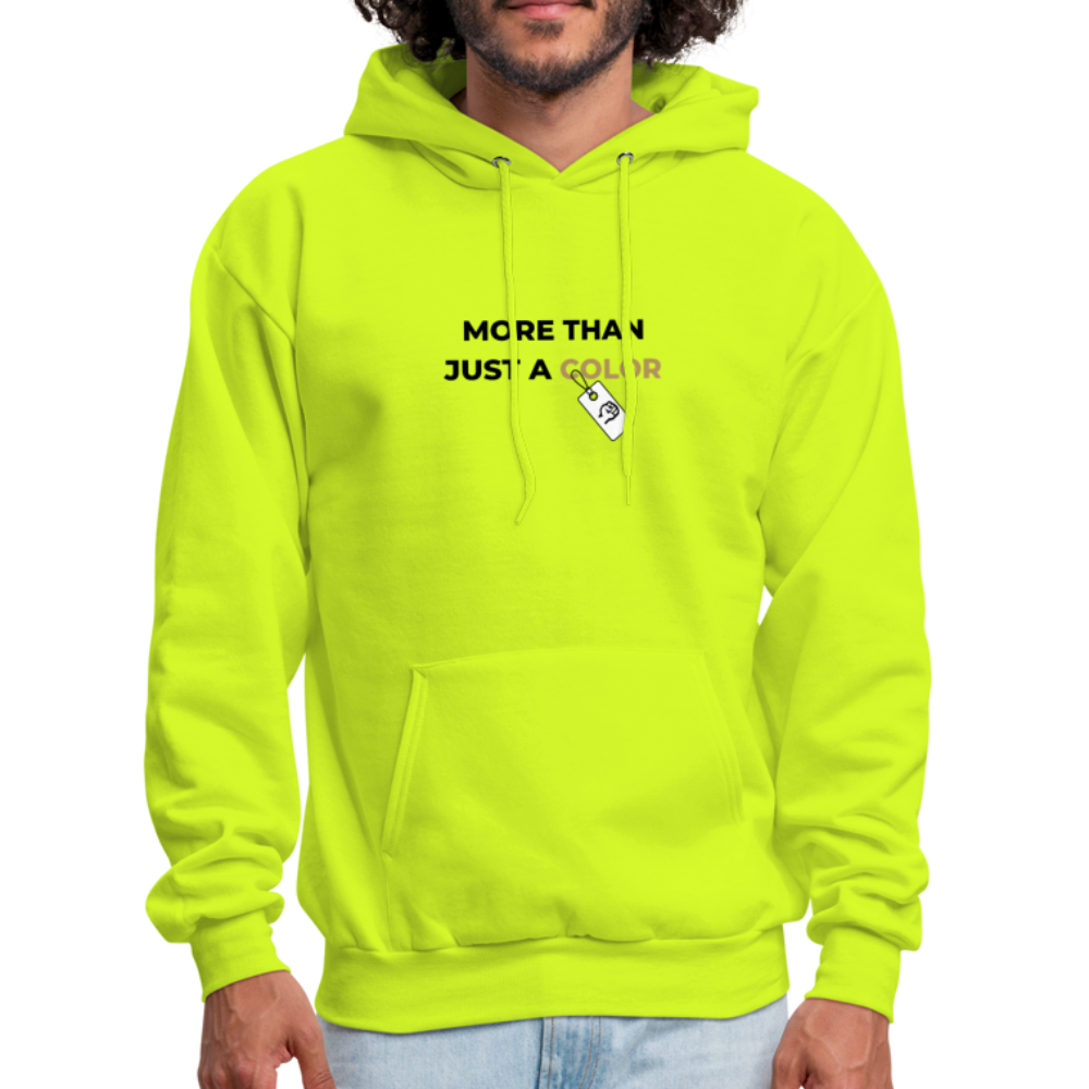 "theblackjunction ""More Than"" Inverse (Hoodie) - safety green"