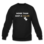"Load image into Gallery viewer, theblackjuncion ""More Than"" (Sweater) - black"