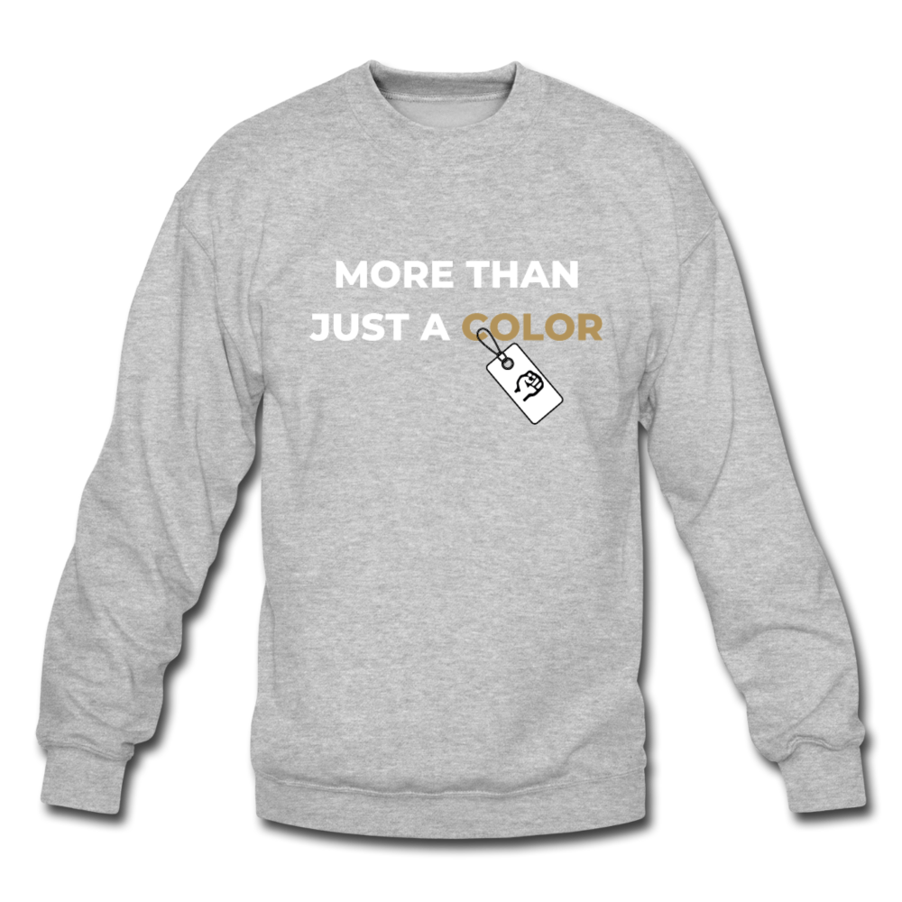 "theblackjuncion ""More Than"" (Sweater) - heather gray"