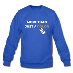 "Load image into Gallery viewer, theblackjuncion ""More Than"" (Sweater) - royal blue"