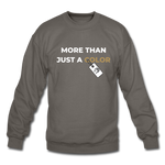 "Load image into Gallery viewer, theblackjuncion ""More Than"" (Sweater) - asphalt gray"