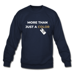 "Load image into Gallery viewer, theblackjuncion ""More Than"" (Sweater) - navy"