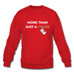"Load image into Gallery viewer, theblackjuncion ""More Than"" (Sweater) - red"