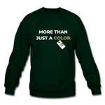 "Load image into Gallery viewer, theblackjuncion ""More Than"" (Sweater) - forest green"