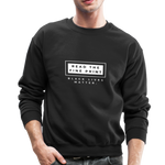 "Load image into Gallery viewer, theblackjunction ""Fine Print"" (Sweater) - black"