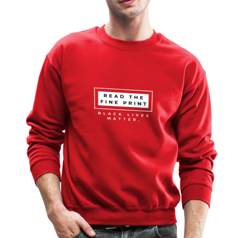"theblackjunction ""Fine Print"" (Sweater) - red"