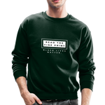 "Load image into Gallery viewer, theblackjunction ""Fine Print"" (Sweater) - forest green"