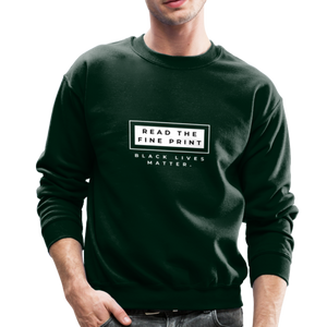 "theblackjunction ""Fine Print"" (Sweater) - forest green"