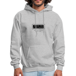 "Load image into Gallery viewer, theblackjunction ""Fine Print"" Inverse (Hoodie) - heather gray"