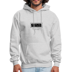 "Load image into Gallery viewer, theblackjunction ""Fine Print"" Inverse (Hoodie) - ash"