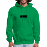 "Load image into Gallery viewer, theblackjunction ""Fine Print"" Inverse (Hoodie) - kelly green"