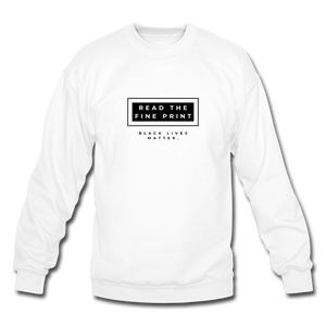 "theblackjunction ""Fine Print"" (Sweater) - white"
