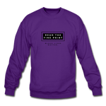 "Load image into Gallery viewer, theblackjunction ""Fine Print"" (Sweater) - purple"