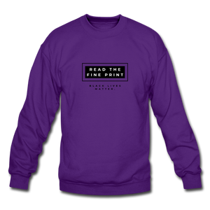 "theblackjunction ""Fine Print"" (Sweater) - purple"
