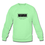 "Load image into Gallery viewer, theblackjunction ""Fine Print"" (Sweater) - lime"
