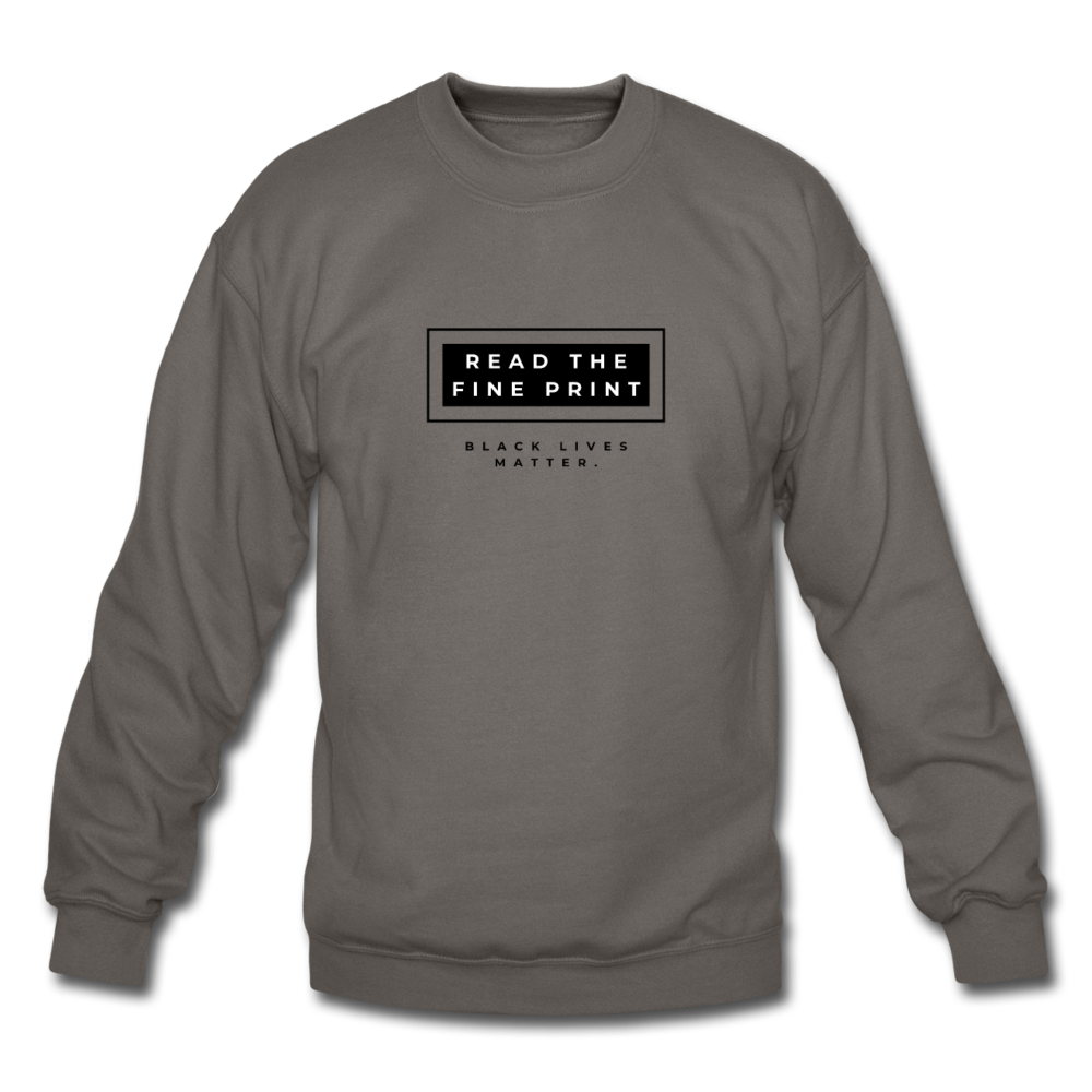 "theblackjunction ""Fine Print"" (Sweater) - asphalt gray"