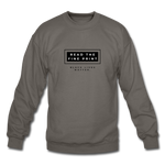 "Load image into Gallery viewer, theblackjunction ""Fine Print"" (Sweater) - asphalt gray"