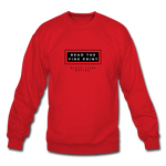 "Load image into Gallery viewer, theblackjunction ""Fine Print"" (Sweater) - red"