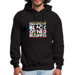 "Load image into Gallery viewer, theblackjunction ""BOB"" (Hoodie) - black"
