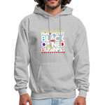 "Load image into Gallery viewer, theblackjunction ""BOB"" (Hoodie) - heather gray"