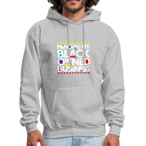 "theblackjunction ""BOB"" (Hoodie) - heather gray"