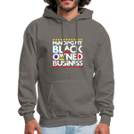 "Load image into Gallery viewer, theblackjunction ""BOB"" (Hoodie) - asphalt gray"