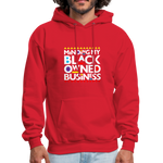 "Load image into Gallery viewer, theblackjunction ""BOB"" (Hoodie) - red"