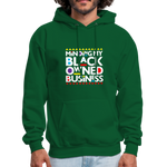 "Load image into Gallery viewer, theblackjunction ""BOB"" (Hoodie) - forest green"