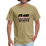 "Load image into Gallery viewer, theblackjunction ""Protect Black Women"" (Tee) - khaki"