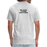 "Load image into Gallery viewer, theblackjunction ""Unapologetic"" (Tee) - heather gray"