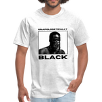 "Load image into Gallery viewer, theblackjunction ""Unapologetic"" (Tee) - light heather gray"