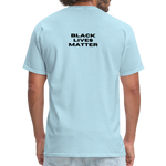 "Load image into Gallery viewer, theblackjunction ""Unapologetic"" (Tee) - powder blue"