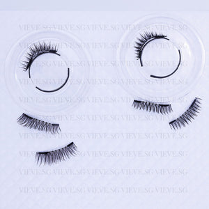 Vieve Clip-On Magnetic Lash BUNDLE - Nude & Luxe