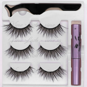 Vieve Magnetic Eyeliner & Lashes Kit - Graceful