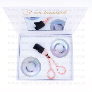 Vieve Clip-On Magnetic Lashes Kit - Nude