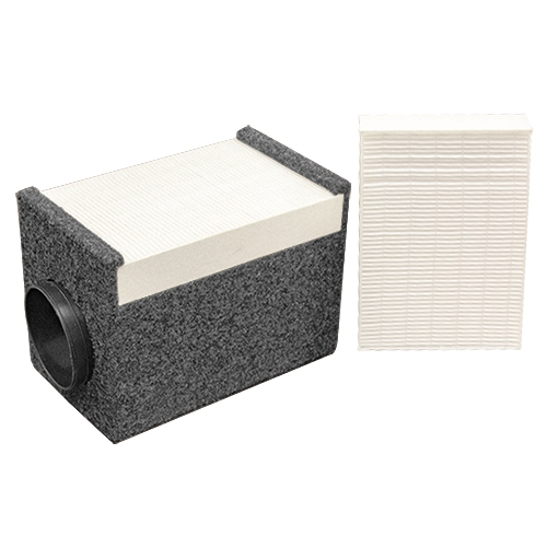 HEPA filter and 1 extra filter for a WhisperRoom