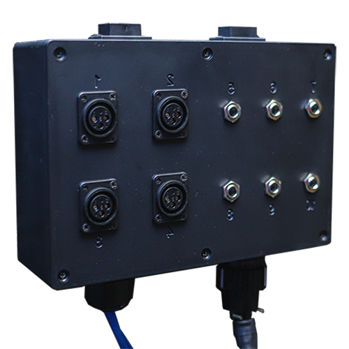 Multi Jack Panel with 1/4-inch inputs and XLR inputs