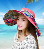 Oversized Reversible Summer Hat - I found it 4 you